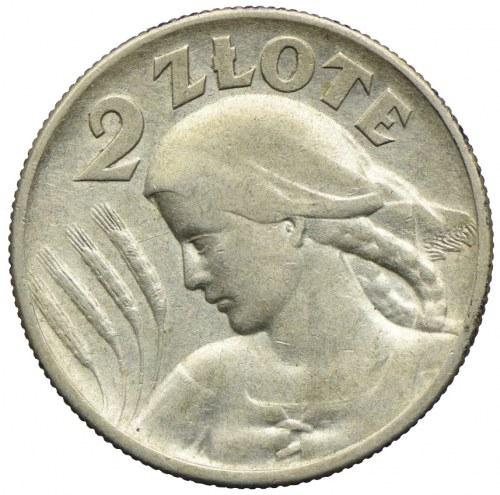 2 złote 1925, Londyn