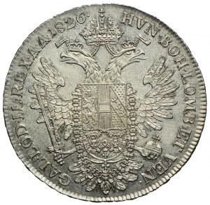 Austria, Franciszek II, 1/2 talara 1826 A, Wiedeń
