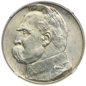 10 złotych 1939, Józef Piłsudski, NGC MS60