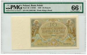 10 złotych 1929 - Ser.DG.