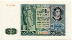 50 złotych 1941 - Ser. B.