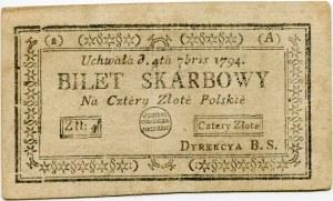 4 złote 1794 (2)(A)