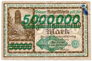 5.000.000 milionów marek 1923, Gdańsk