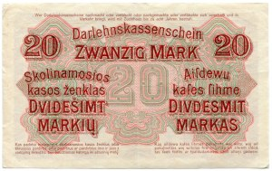 20 marek 1918, seria A, Kowno