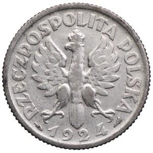 1 złoty 1924, Kobieta i kłosy, Paryż