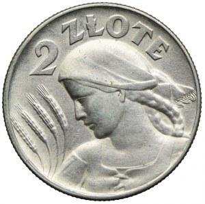2 złote 1925, Kobieta i kłosy, Filadelfia