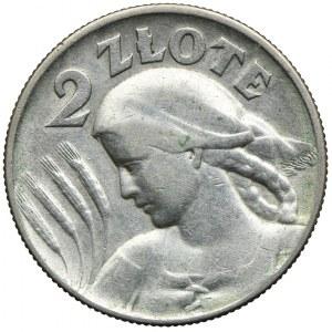 2 złote 1925 Kobieta z kłosami, Londyn