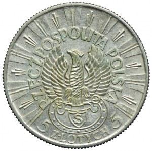 5 złotych 1934, Józef Piłsudski - Strzelecki