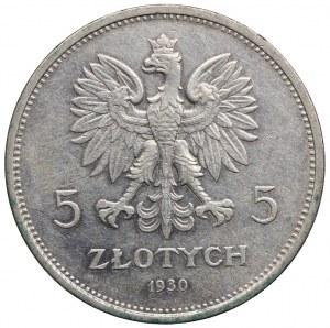 5 złotych 1930, Sztandar