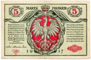5 marek 1916 Generał seria B