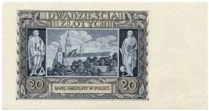 20 złotych 1940 seria K