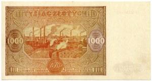 1000 złotych 1946 seria P