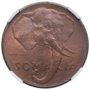 Somalia, 5 centesimi 1950, NGC MS64 RB