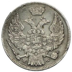 Polska, Mikołaj I, 15 kopiejek=1 złoty 1838 MW, Warszawa