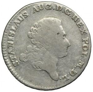 Stanisław August Poniatowski, dwuzłotówka (8 groszy), 1766 FS, Warszawa