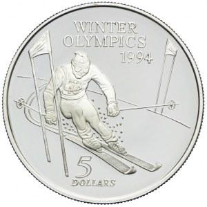 Nowa Zelandia, 5 dolarów 1994
