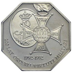 50.000 złotych 1992, 200 lat Orderu Virtuti Militari