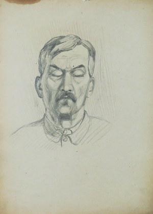 Ludwik Antoni Maciąg (1920-2007), Portret mężczyzny