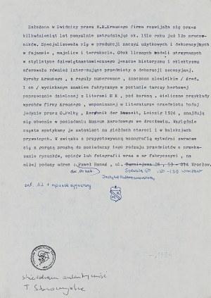 Franciszek Starowieyski, Szkic 1