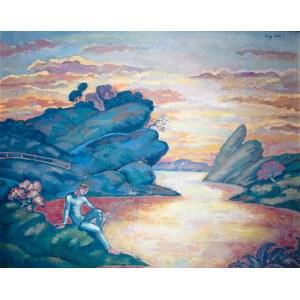 Eugeniusz Zak (1884 Mogilno – 1926 Paryż), Rybak, 1914 r.