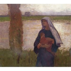 Władysław Wankie (1860 Warszawa - 1925 tamże), Madonna, ok. 1917 r.