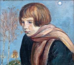 Wlastimil Hofman (1881 Praga - 1970 Szklarska Poręba), Dziecko, 1923 r.