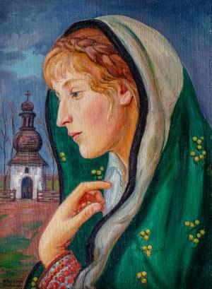 Wlastimil Hofman (1881 Praga - 1970 Szklarska Poręba), Madonna