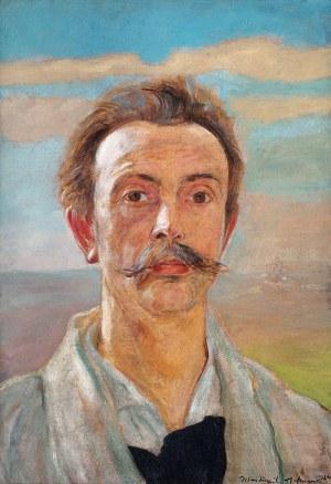 Wlastimil Hofman (1881 Praga - 1970 Szklarska Poręba), Autoportret, 1924 r.
