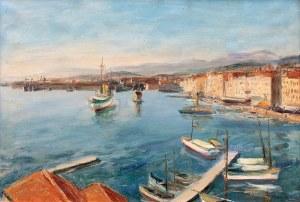 Henryk Hayden (1883 Warszawa - 1970 Paryż), W cichym porcie