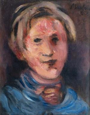 Alfred Aberdam (1894 Lwów – 1963 Paryż), Autoportret ,1927r.