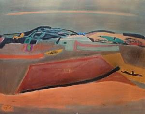 Henryk Hayden (1883 Warszawa - 1970 Paryż), Góry (Les Monts Moyens), 1961 r.