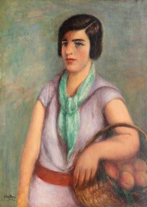 Henryk Hayden (1883 Warszawa - 1970 Paryż), Kobieta z koszem, 1923 r.