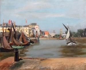 Henryk Hayden (1883 Warszawa - 1970 Paryż), Port de Honfleur