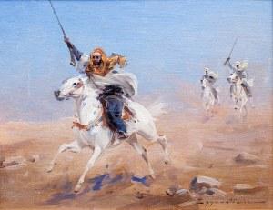 Czesław Wasilewski (1875 Warszawa – 1947 Łódź), Arabowie na pustyni