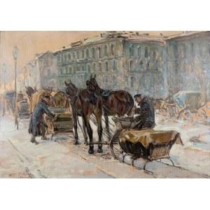 Jan Erazm Kotowski (1885 Opatkowiczki k. Pińczowa - 1960 Milanówek), Warszawa