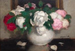 Alfons Karpiński (1875 Rozwadów - 1961 Kraków), Róże mieszane