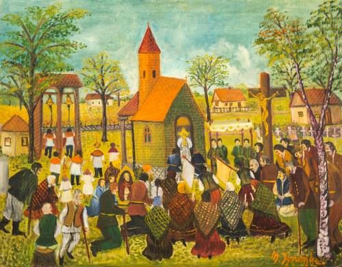 Maria Ignarska (1904-?), Bez tytułu, 1973