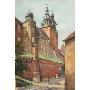 Tadeusz Rutkowski (1906-1981), Widok na Wawel