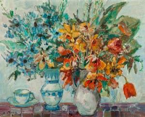 Henryk Krych (1905-1980), Martwa natura - Kwiaty