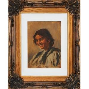 Sylweriusz Saski (1864-1954), Młoda góralka