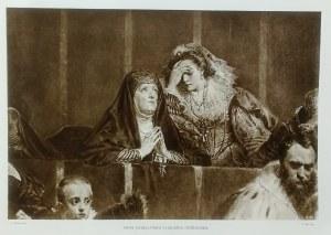Jan Matejko (1838 - 1893), Anna Jagiellońska i Halszka Ostrogska