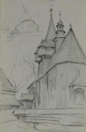 Józef Pieniążek (1888-1953), Kościół w Woli Radziszowskiej