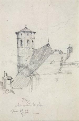 Tadeusz Rybkowski (1848-1926), Kościół Minorytów w Wiedniu, 1876