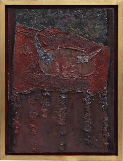 Aleksander Kobzdej, bez tytułu, 1961