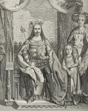 Jan MATEJKO (1838-1893), Ludwik I, Król Węgierski i Polski