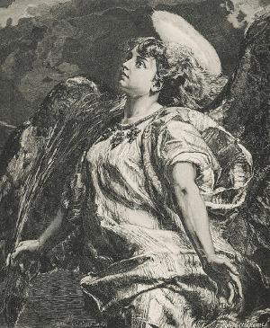 Jan MATEJKO (1838-1893), Pieśń, 1887