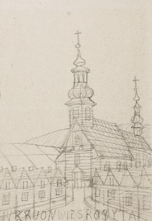 Nikifor KRYNICKI (1895-1968), Kościół