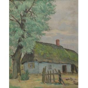 Szczepan ANDRZEJEWSKI (1892-1950), Chałupa, 1939