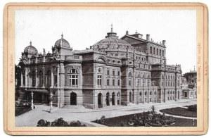 [Teatr miejski]. [nie przed 1895, nie po 1898/pocz. XX w.]. Fotografia form. 9,3x14,6 cm