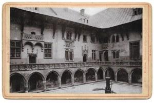 [Biblioteka Jagiellońska]. [nie przed 1895, nie po 1898/pocz. XX w.]. Fotografia form. 9,4x14,5 cm